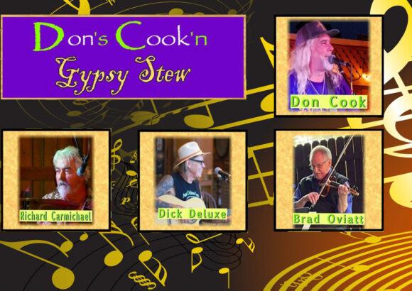 Gypsy Stew – Saturday & Sunday 3:15pm – Close