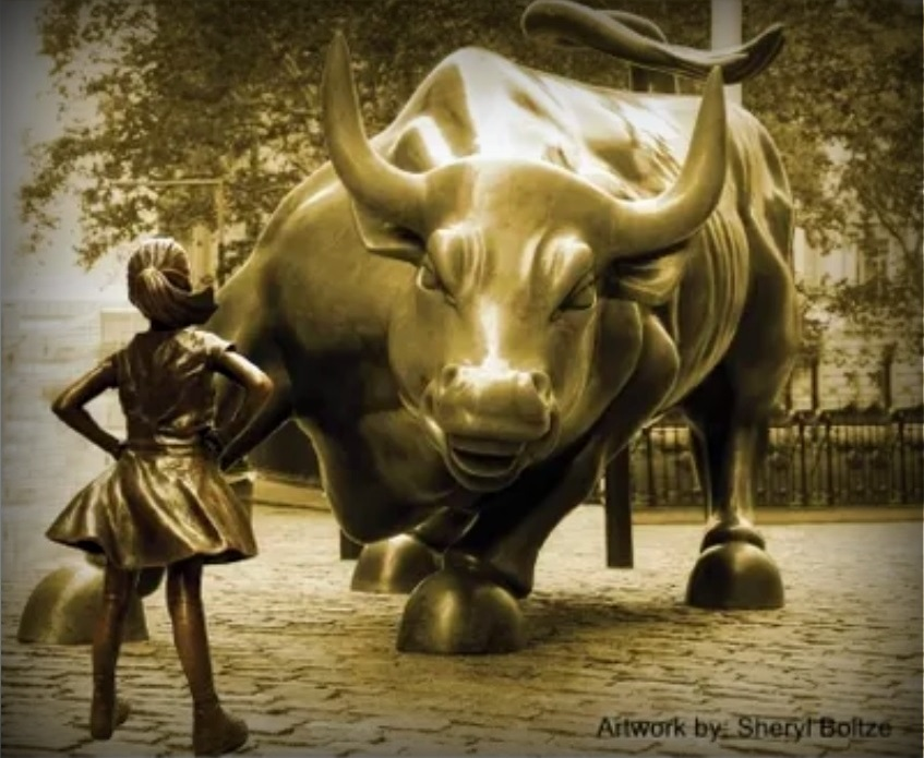 Facing the Bull by Lisa Bonner