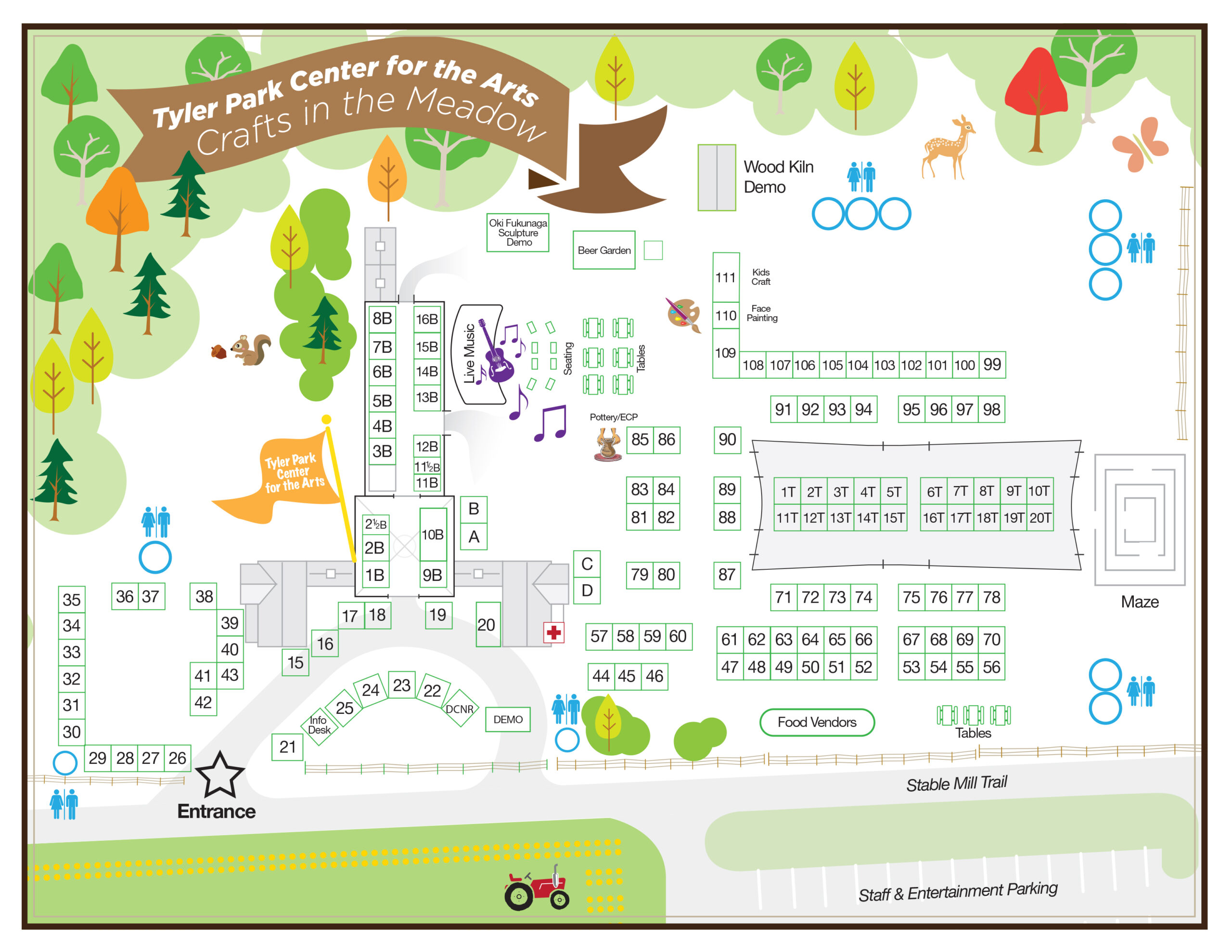 Program for Crafts in the Meadow